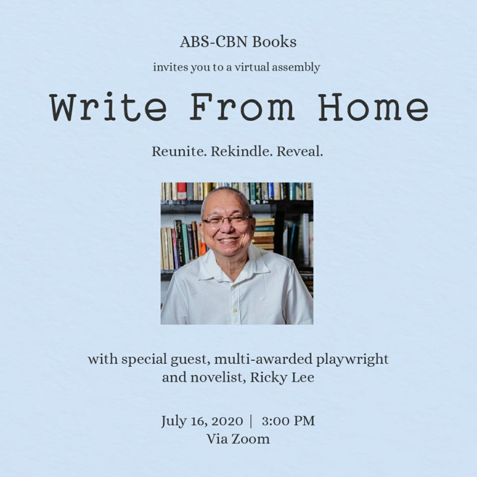 On Writing From Home